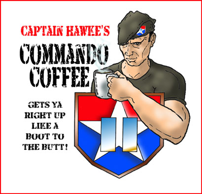 Captain Mykel Hawke's Commando Coffee
